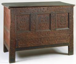 RA Carved Chest