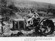 kids on tractor from early 19th century