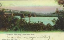 bridge over the Connecticut River at Hadley