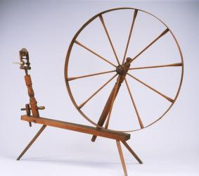 image of a spinning wheel