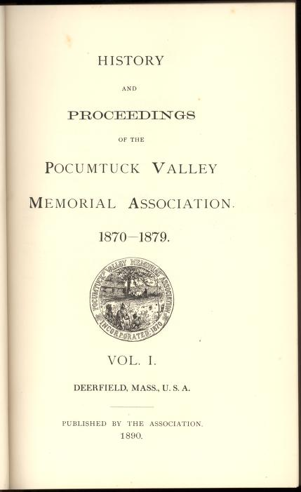 Volume 1 - Title page